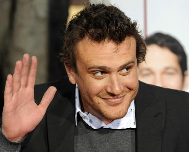 Actor Jason Segel arrives at the premier